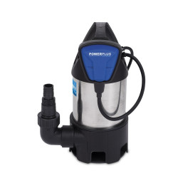 POWERPLUS Pompe submersible 400W Inox - POW67912