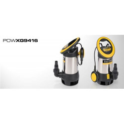 POWERPLUS Pompe d'evacuation eaux chargees 550W - POWXG9416