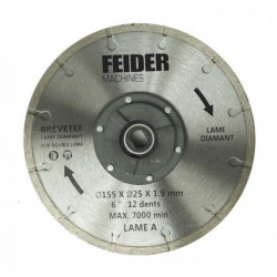 FEIDER Lame diamant 185MM FDL185 DB