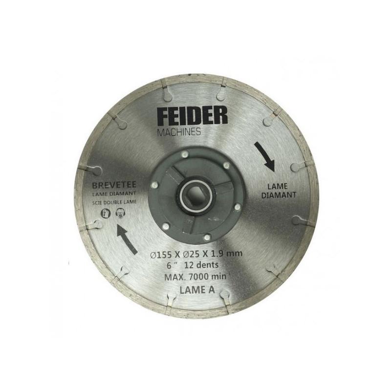 FEIDER Lame diamant 185MM FDL185 DB