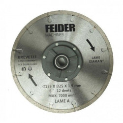FEIDER Lame TCT 125MM FDL125 CB