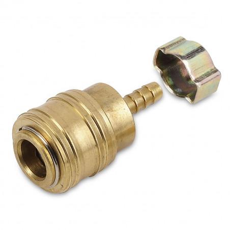 connecteur tuyau flexible fem. univ + anneau POWAIR0264