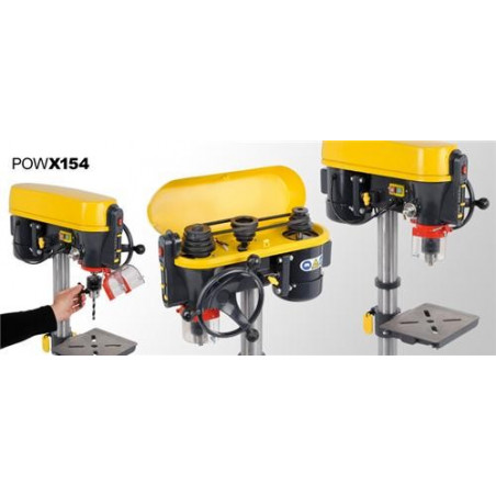 POWERPLUS Perceuse à colonne 500 watts - POWX154