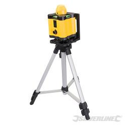 Silverline Coffret niveau laser rotatif 273233