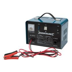 Silverline Chargeur de batterie 12 / 24 V 178555