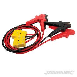 Silverline Câbles de démarrage à protection anti-surtension 400 A max. 705743