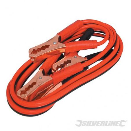 Silverline Câbles de démarrage 200 A max 857328
