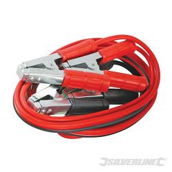 Silverline Câbles de démarrage usage intensif 600 A max 456956