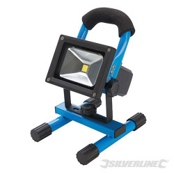 Silverline Projecteur LED rechargeable avec port USB 258999