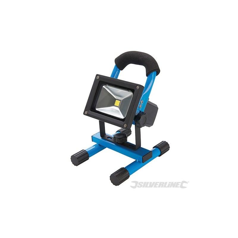 Silverline Projecteur LED rechargeable avec port USB 258999
