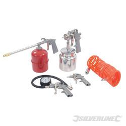 Silverline Coffret 5 accessoires pour outils pneumatiques 633548