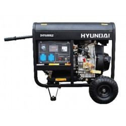 Groupe électrogène diesel Hyundai 6500w DHY8500LEK-3 triphasé