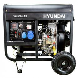 Groupe électrogène diesel Hyundai 6500w DHY8500LEK mono