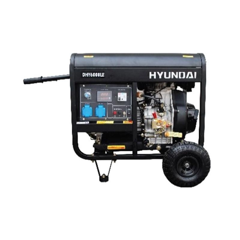 HYUNDAI Groupe électrogène Diesel Monophasé 5500W - DHY6000LEK