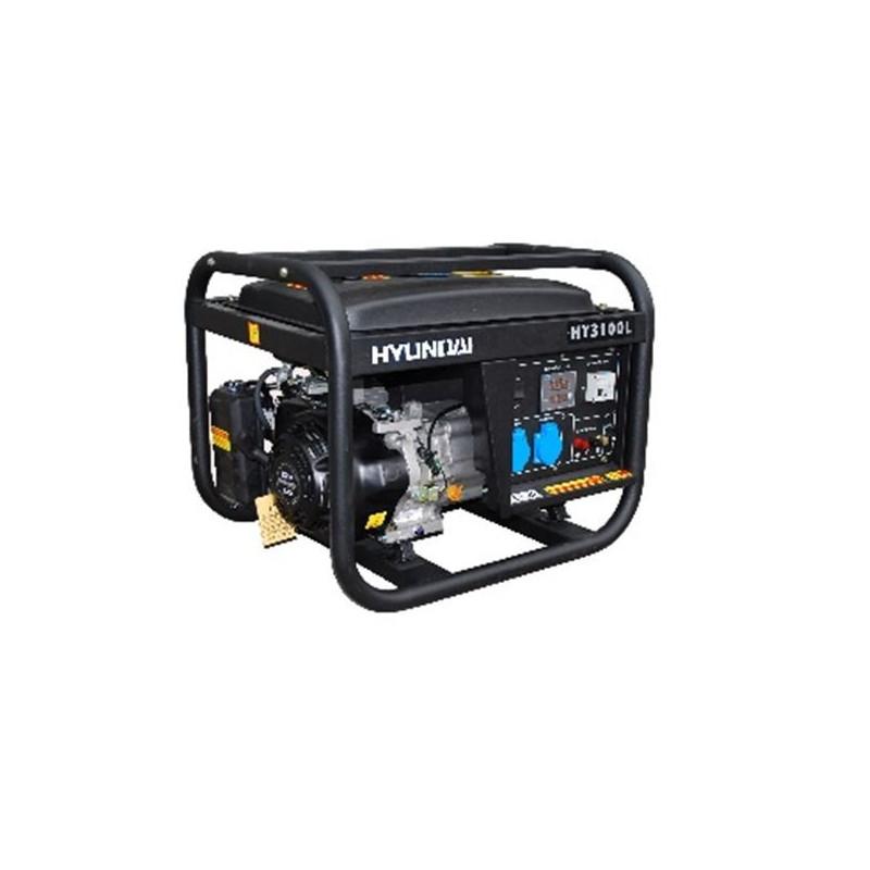 HYUNDAI Groupe électrogène de chantier 3000W - HY3100L SERIE PRO