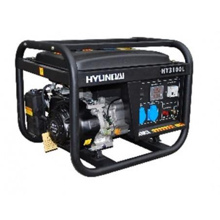 HYUNDAI Groupe électrogène de chantier 3300W - HY4100L SERIE PRO
