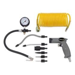 Kit 9 accessoires pneumatique POWAIR0022