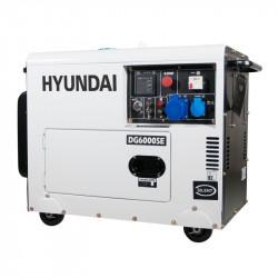 Groupe électrogène diesel Hyundai DHY6000SE 5300w mono