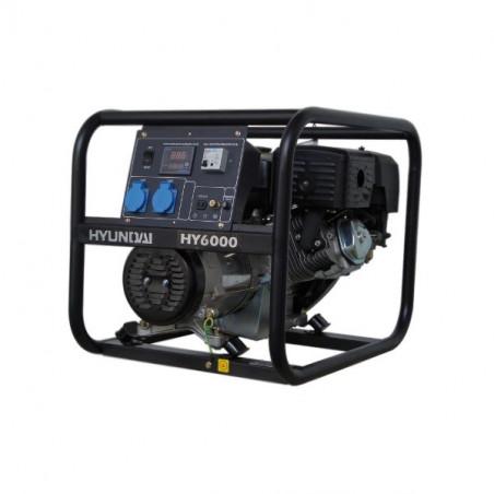 HYUNDAI Groupe électrogene de chantier Essence 4500W - HY6000