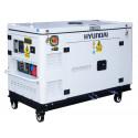 HYUNDAI Groupe électrogène Diesel 10KW Triphasé - DHY12000XSE