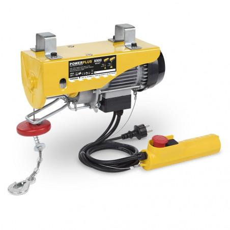 POWERPLUS Palan électrique 500 W Poids Max 200kg - POWX900