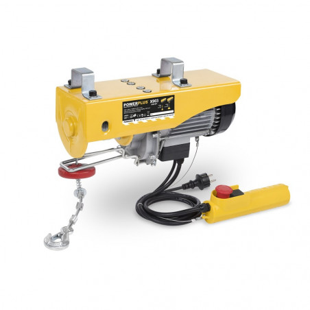 POWERPLUS Palan électrique 1300 W Poids Max 800 kg - POWX903