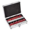 VARO Coffret alu 15 fraises pour x091 POW-x091s15
