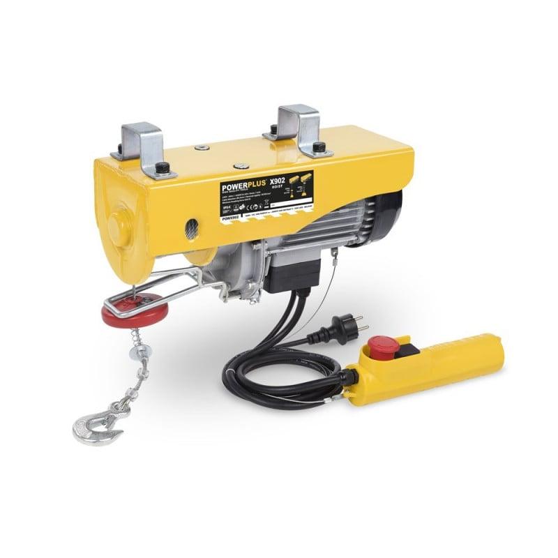 POWERPLUS Palan électrique 300/600kg 1050 watts - POWX902