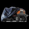 Housse polyester noir pour tracteur auto-porté BCH0004 JR