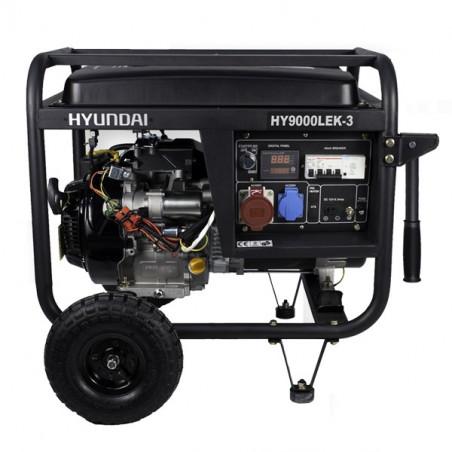 HYUNDAI Groupe électrogène essence tri et mono HY9000LEK-3 7,5kVA