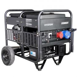 HYUNDAI Groupe électrogène moteur essence série FULL POWER HY12000LEK-T 10 kVA triphasé
