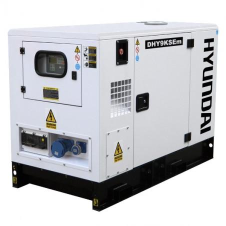 HYUNDAI Groupe électrogène industriel Diesel 8800W DHY9KSEm