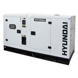 HYUNDAI Groupe électrogène DHY35KSEm insonorisé monophasé Diesel