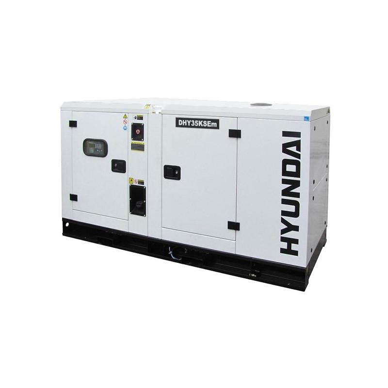 HYUNDAI Groupe électrogène diesel 7 kVa DHY8000SE-T