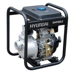 HYUNDAI motopompe thermique-296cc-DHY80LE-E diesel