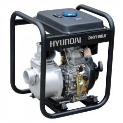 HYUNDAI motopompe thermique diesel- 406cc- DHY100LE -E