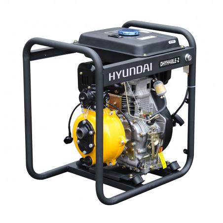 HYUNDAI motopompe thermique diesel 418cc 10 cv DHYH40LE-2 dém élec