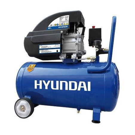 HYUNDAI HYAC50-2 Compresseur 8 Bar 50 Litres