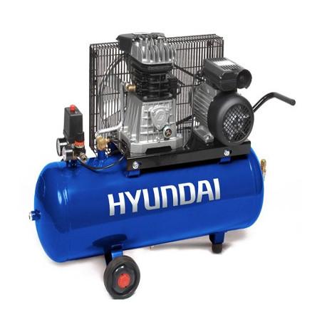 HYUNDAI HYACB50-3 Compresseur Pro 10 Bar 50 Litres courroie