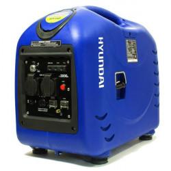 dispo fin aout 20 HYUNDAI Groupe électrogène Inverter 2800W HY3000SEI avec télécommandes