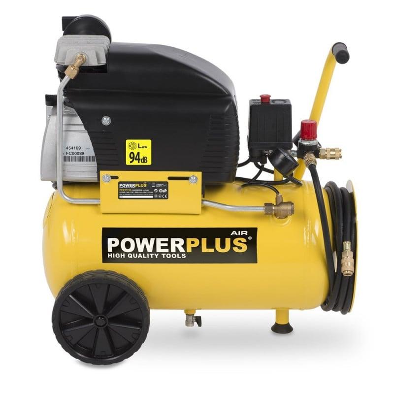 POWERPLUS Compresseur 1600 watts 24 litres - POWXQ8105