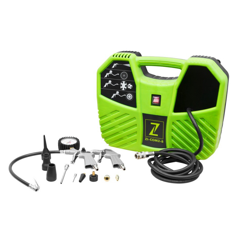 ZIPPER Compresseur portable sans huile ZI-COM2-8