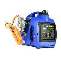 HYUNDAI Groupe électrogène gaz et essence inverter HY1000SILPG