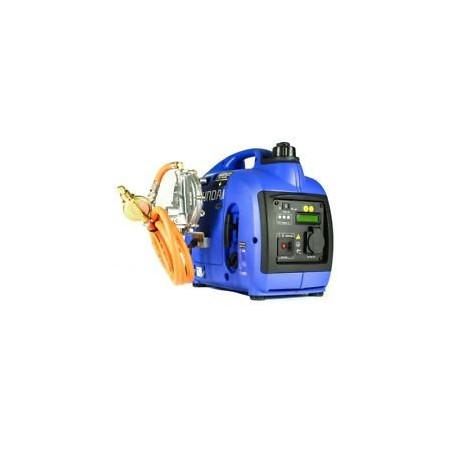 HYUNDAI Groupe électrogène gaz et essence inverter HY1000SI-LPG