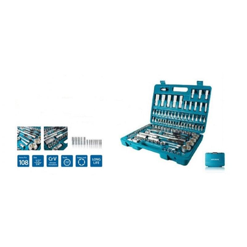Hyundai kit d'outils universel K108