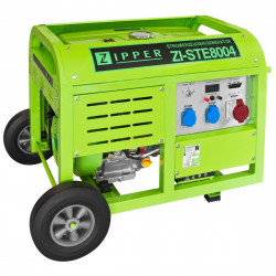 Zipper groupe électrogène 8000W ZI-STE8004 Démarrage éléctrique essence