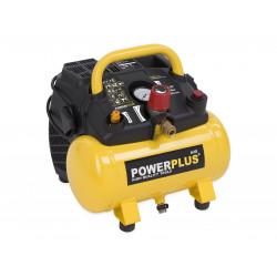 POWERPLUS Compresseur portatif 1100 W 6l - POWX1721