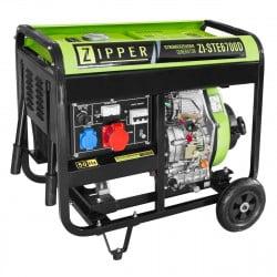 Zipper groupe électrogène diesel ZI-STE6700D