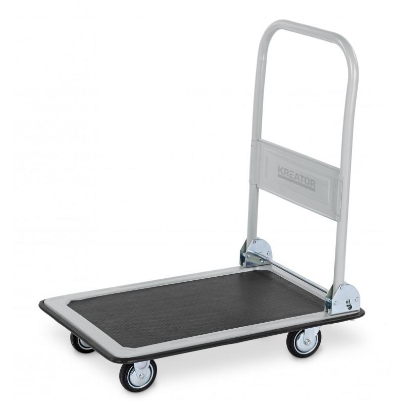 KREATOR Chariot à roulettes pliant 150 kg KRT670101