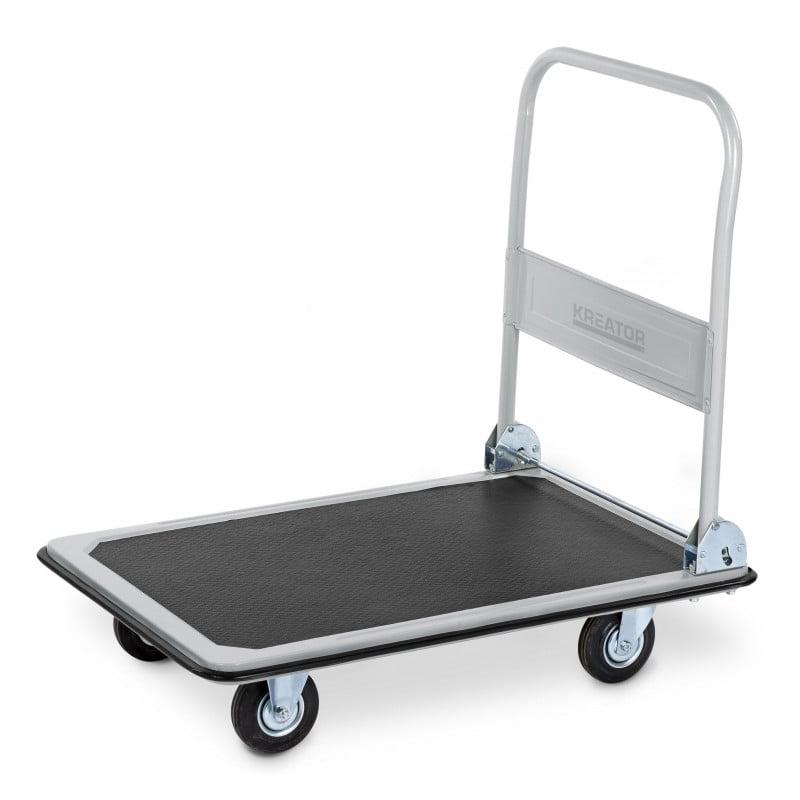 KREATOR Chariot à roulettes pliant 300 kg KRT670102